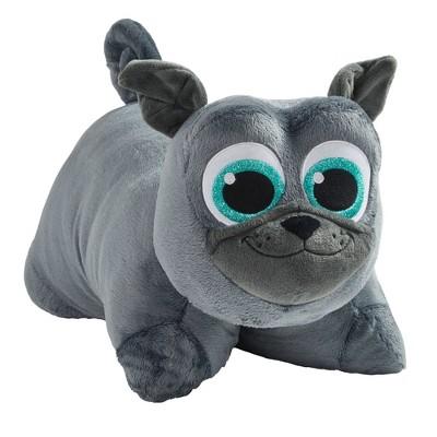 16 disney junior puppy dog pals bingo gray plush pillow pets