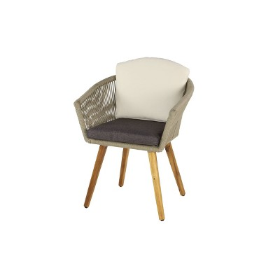 modern indoor outdoor dining chair gray olivia may