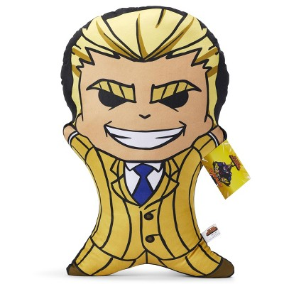 surreal entertainment my hero academia 20 inch character pillow all might