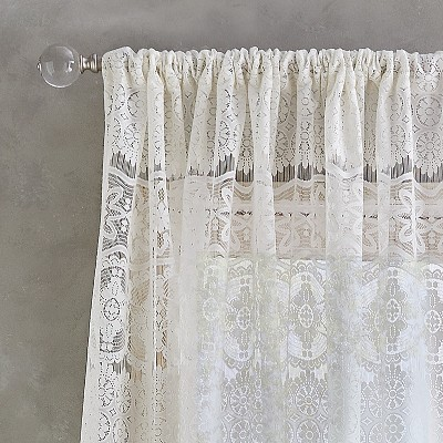 lace curtains drapes target
