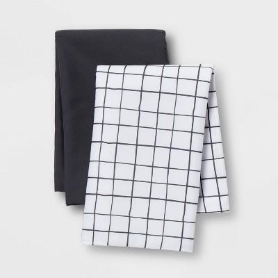 microfiber body pillow cover 2pk gray room essentials