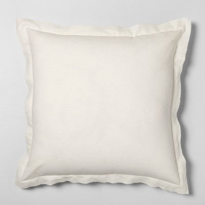 26 x 26 euro pillow sour cream hearth hand with magnolia