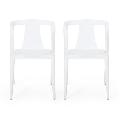 white resin patio chair target
