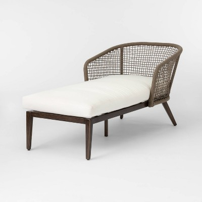 risley oversized rope patio chaise lounge linen project 62