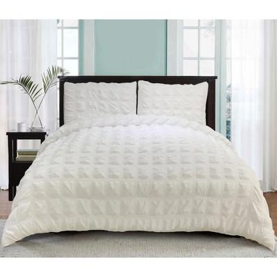 lily ny relax oversized waffle comforter 3 pc set ivory king