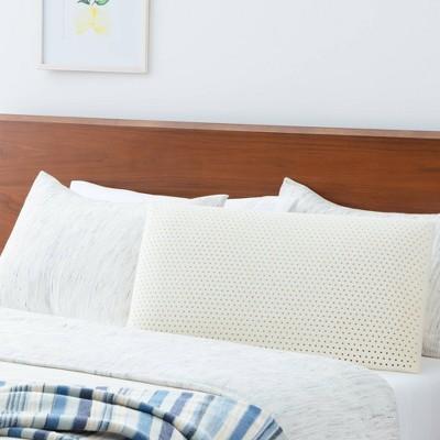 latex foam pillow standard white
