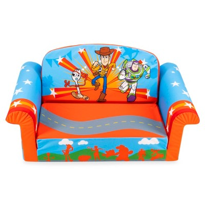 marshmallow furniture 2 in 1 flip open couch bed sleeper sofa kid s furniture for ages 2 years old and up toy story
