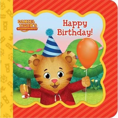 Happy Birthday Daniel Tiger S Neighborhood Little Bird Greetings Keepsake Card Board Book With Personalization Fl By Scarlett Wing Target
