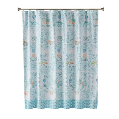 south seas shower curtain teal saturday knight ltd
