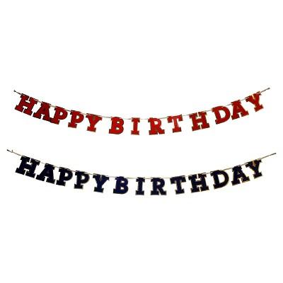 Assorted Happy Birthday Banner Spritz Target