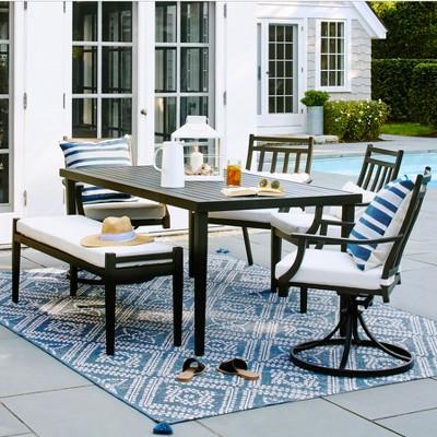 fairmont 6pc patio dining set threshold