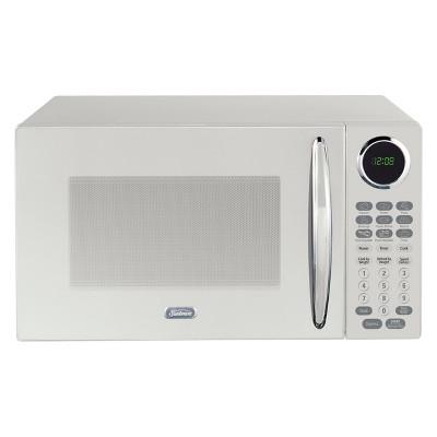 sunbeam 0 9 cu ft 900w microwave white sgcmb809we 09