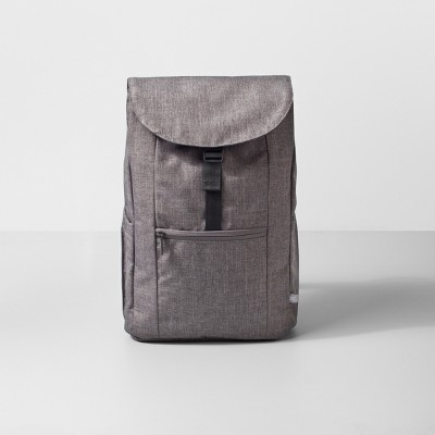 backpack 17 heather gray made by design