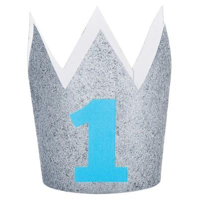 1st Birthday Boy Crown Target