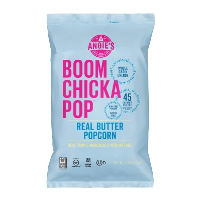 angie s boomchickapop real butter popcorn 4 4oz