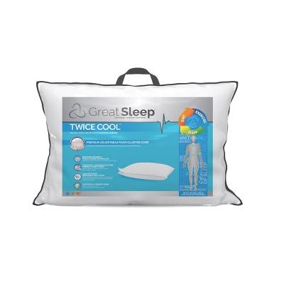 memory foam cluster pillow target