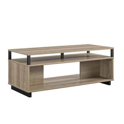 jude coffee table with storage golden oak room joy