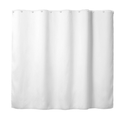 it s a snap replacement peva shower curtain liner solid white hookless