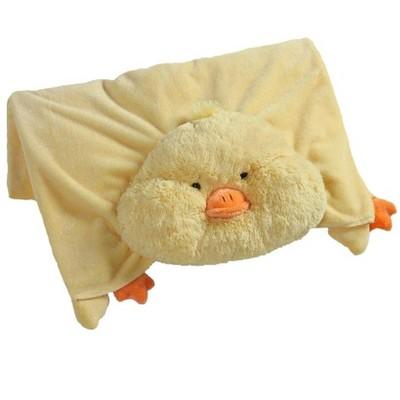 my pillow pets my pillow pets plush blanket duck