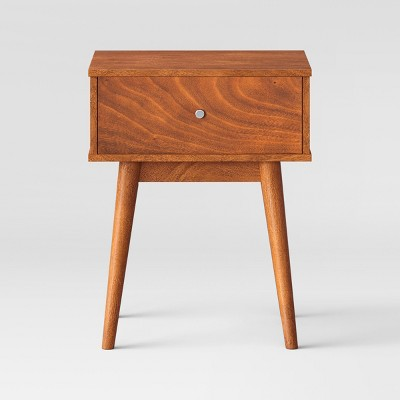 24 amherst mid century modern side table brown project 62
