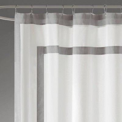 canvas shower curtains target