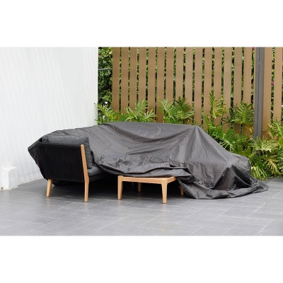patio cover for dining set square and waterproof black amazonia