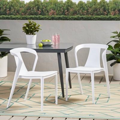 patio furniture white resin target