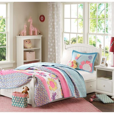 girls quilt bedding set target