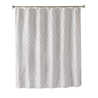 trellis graphic shower curtain light gray saturday knight ltd