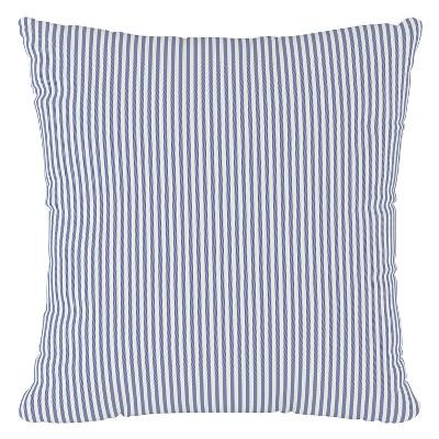 navy stripe throw pillow skyline furniture