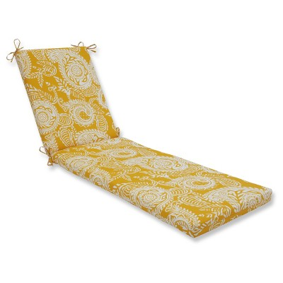 outdoor indoor addie yellow chaise lounge cushion pillow perfect