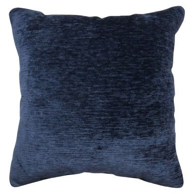 oversize chenille square throw pillow navy threshold