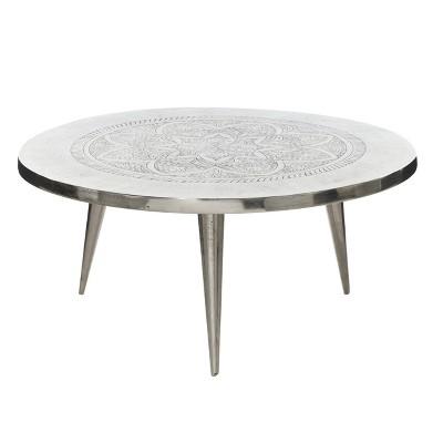 aluminum coffee table olivia may