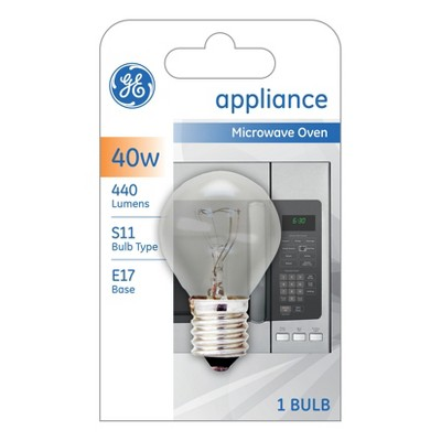 general electric 40w high intensity light bulb
