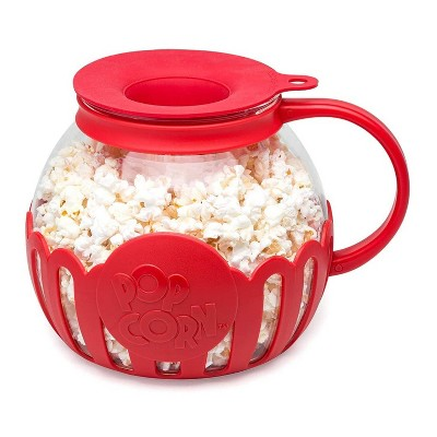 ecolution kit extras 3qt caged popcorn popper red