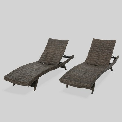 wicker chaise lounge clearance target