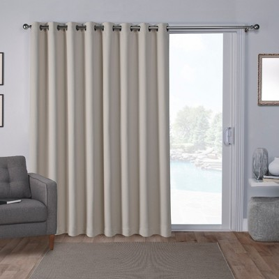 extra wide blackout curtains target