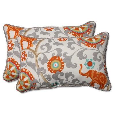 pillow perfect outdoor throw pillow set gray