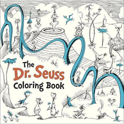 The Dr Seuss Coloring Book Paperback By Seuss Target