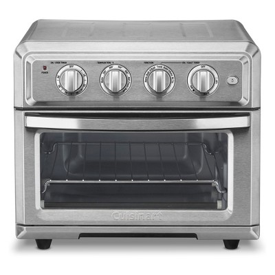 cuisinart airfryer toaster oven stainless steel toa 60tg