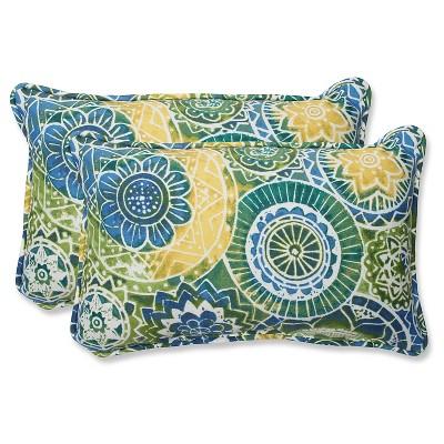 pillow perfect 2 piece outdoor lumbar pillows omnia