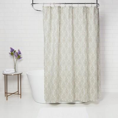 bamboo shower curtain hooks target