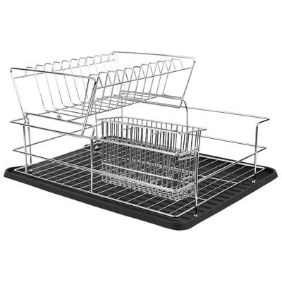2 tier dish rack target