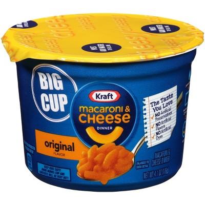 kraft big bowl mac cheese 4 1oz