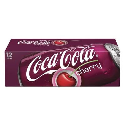 coca cola cherry 12pk 12 fl oz cans