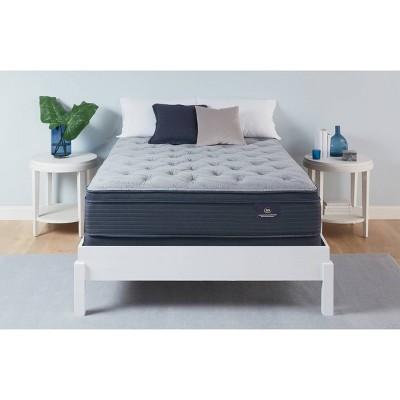 serta 14 grandmere plush pillowtop memory foam mattress queen