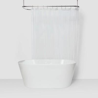 peva light weight shower liner clear room essentials