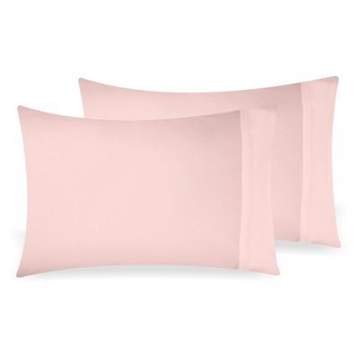 https www target com p blush pink 2pc standard pillowcases pillowcase 100 extra long staple 500 thread count sateen weave 2 piece set california design den a 79810802