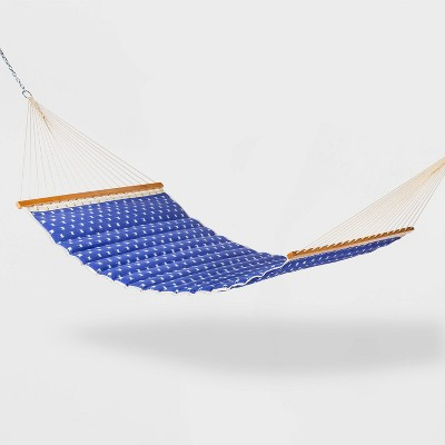 pillow top patio hammock twill dash weave threshold
