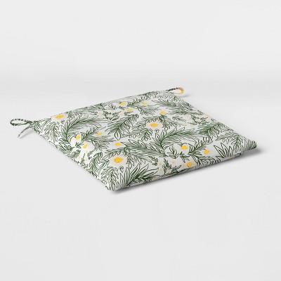 spring floral outdoor seat cushion duraseason fabric green opalhouse